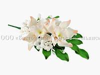 Букет из мастики - Орхидеи ПЕРСИКОВАЯ №15