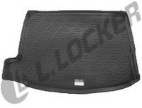 Резиновый коврик в багажник Honda Civic HB 5D 12-  Lada Locer (Локер)