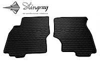 Резиновые коврики Stingray Стингрей Infiniti FX (S50) 2003-2008 Комплект из 2-х ковриков Черный в салон. Доставка по всей Украине. Оплата при