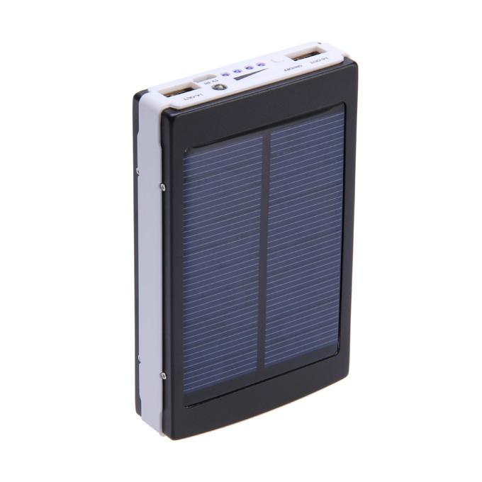 Портативний зарядний пристрій Solar Power Bank 30000mAh на сонячній батареї