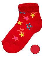 Детские махровые носки (Красный)
