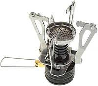 Ультра лёгкая портативная газовая горелка с пьезоподжигом