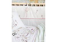 Постельное белье для младенцев Karaca Home - Baby Ducks 2017-1 апликация