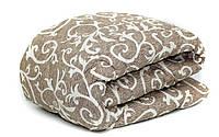 Одеяло шерстяное двуспальное бязь 180*210 хлопок (2897) TM KRISPOL Украина