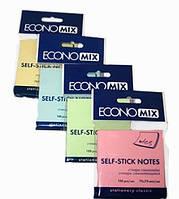 Бумага с липким слоем Economix Е20930-13 100 листов салатовая