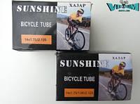 "Камера велосипедная 14""х1.75/2.125 ""Sunshine"" (AV 34мм.)"
