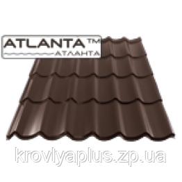 """Металлочерепица """"Атланта"""" 0,45мм (полиэстер)"""
