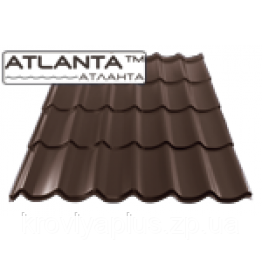 "Металлочерепица ""Атланта"" 0,45мм (полиэстер), фото 2"