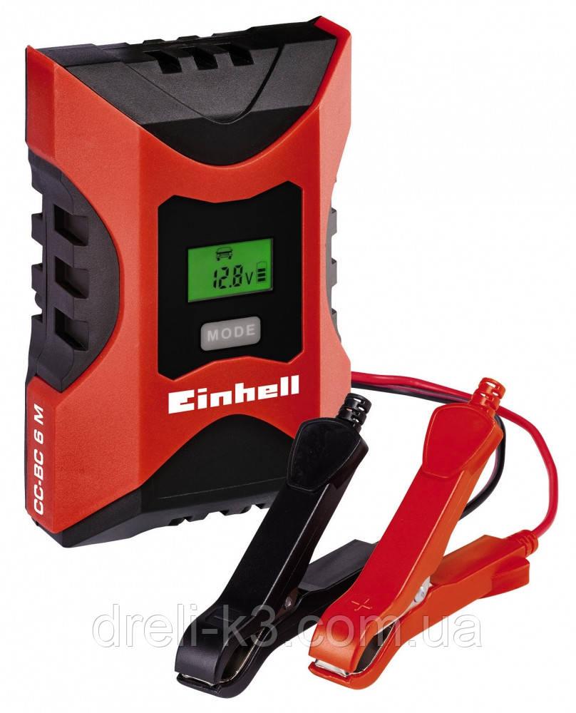 Интеллектуальное зарядное устройство Einhell CC BC 6 M