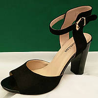 Женские босоножки на евро каблуке