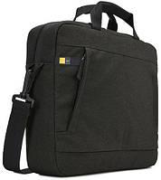 """Тонкий портфель для планшета и ноутбука 13-14"""" CASE LOGIC Huxton Attache HUXA113 - (Black) 6292477, черный"""