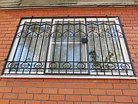 """Кованые решетки на окна из квадрата 12х12. Возможна покраска супер эмалью """"Альпина"""" и установка."""