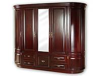 Шкаф «Люкс» из натурального массива дерева коллекция «Полесье»