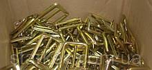 Пряжки стальные метал и желтые для ремней офицерских