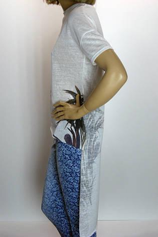 Жіноча туніка з тоненького трикотажу Tendy , фото 2