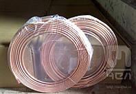 Трубка в бухтах, в отрезках медная 6х1 мм доставка по Украине.