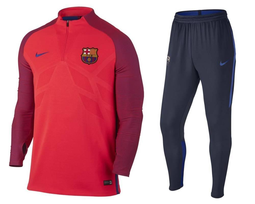 Тренировочный костюм FC Barcelona Nike Strike 16/17