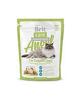 Brit Care Angel I am Delighted Senior корм для пожилых кошек, 400 г