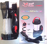 Лампа Светодиодная Yajia 5837 24LEВ + 1W + Solar панель Rechargeable