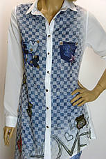 Рубашка-туника Movda , фото 2