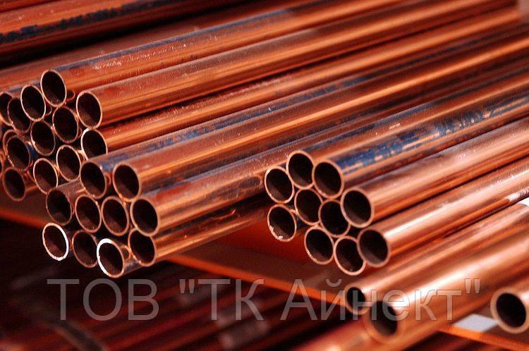Труба медная ф 35х2 мм М1 М2 мягкая, твёрдая