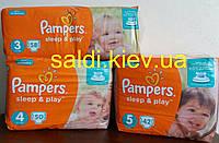 Подгузники Pampers (Памперс) Sleep&Play