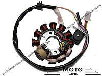 Генератор в сборе на скутер 4т GY6/QMB/QMI/KBF 125-150cc (11POL) GXmotor