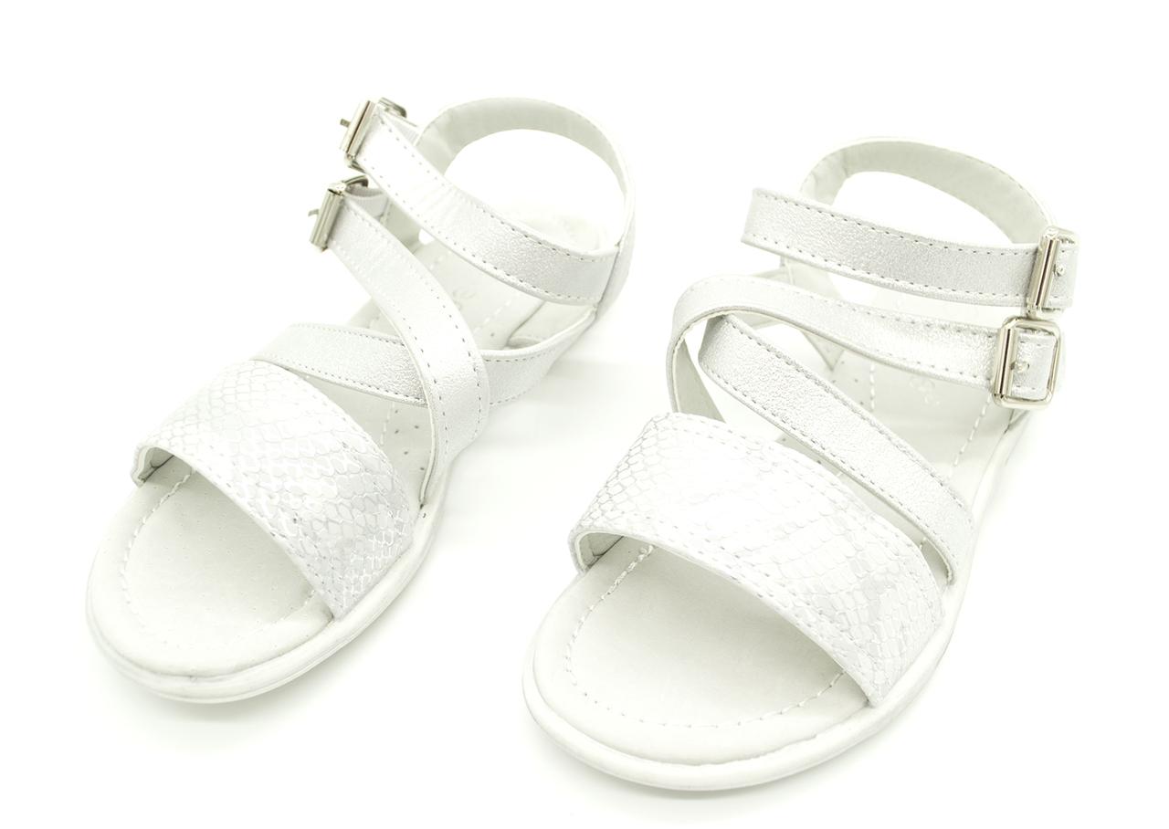 Босоножки сандали с кожаной ортопедической стелькой для девочек