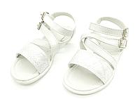 Босоножки сандали с кожаной ортопедической стелькой для девочек 31-36 размер