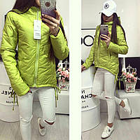 Куртка парка модель 210 яблоко