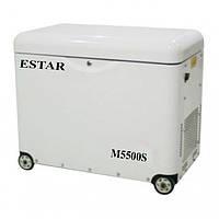 Однофазный дизельный генератор ESTAR M5500S (5,0 кВт)