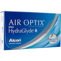 Новинка! AIR OPTIX plus HydraGlyde