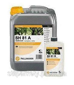 Pallmann SH 81: лак для паркета на растворителе с кислотным отвердителем (Германия)