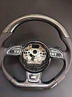 Карбоновый руль Audi A8