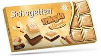 "Шоколад Schogetten Trilogia Caramel (""Шогеттен Трилогія карамель) Германия 100 г"