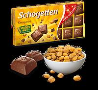 Шоколад Schogetten Roasted Corn (с поп-корном), Германия, 100 г