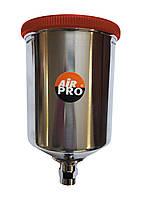 Верхний бачок для краскопультов алюминиевый 0,6 л Air Pro STP-600