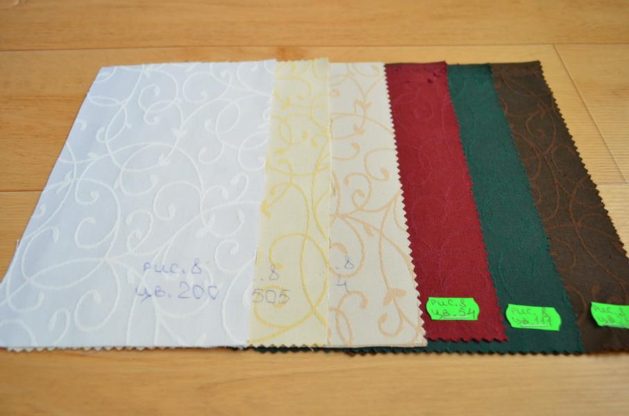 Ткань для Скатертей Вьюнок-150 (Рис.8 Цветная) с пропиткой Тефлон 150см