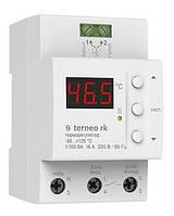 Терморегулятор Terneo rk для электрических котлов