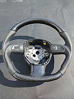 Карбоновый руль Audi A8 стиль