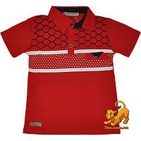 """Детская футболка-поло """"Markayes Kids Wear"""" , трикотаж , для мальчиков от 5-8 лет (4 ед. в уп.)"""