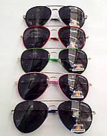 Детские, подростковые солнцезащитные очки с поляризацией для мальчиков и девочек