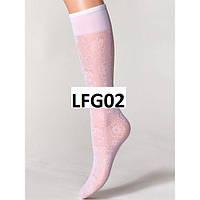 Ажурные белые гольфы для девочек (LFG 02)