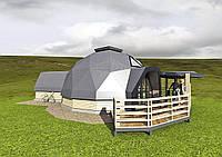 Жилой купольный дом
