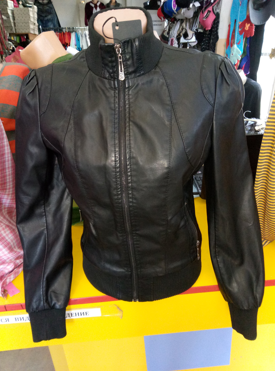Куртка женская из экокожи ANDGELINA