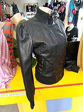 Куртка женская из экокожи ANDGELINA, фото 2