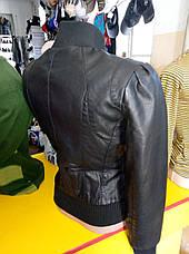Куртка женская из экокожи ANDGELINA, фото 3