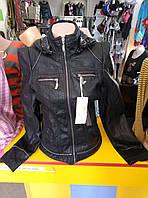 Куртка женская из экокожи DJJ
