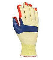 Рабочие перчатки трикотажные c латексным покрытием полный облив Doloni 4565