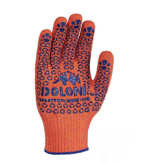 Рабочие перчатки ХБ с ПВХ 10 класс Doloni 526